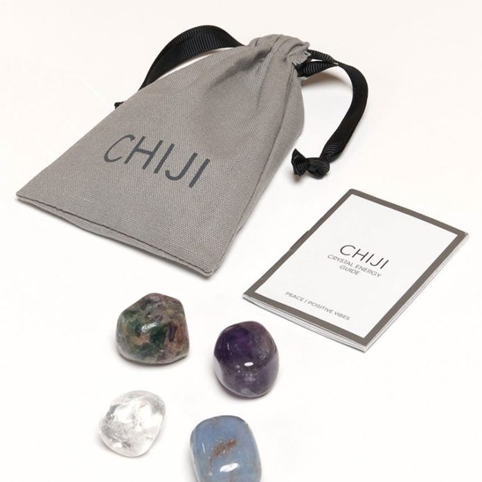 Chiji Peace + Positive Vibes Crystal Set