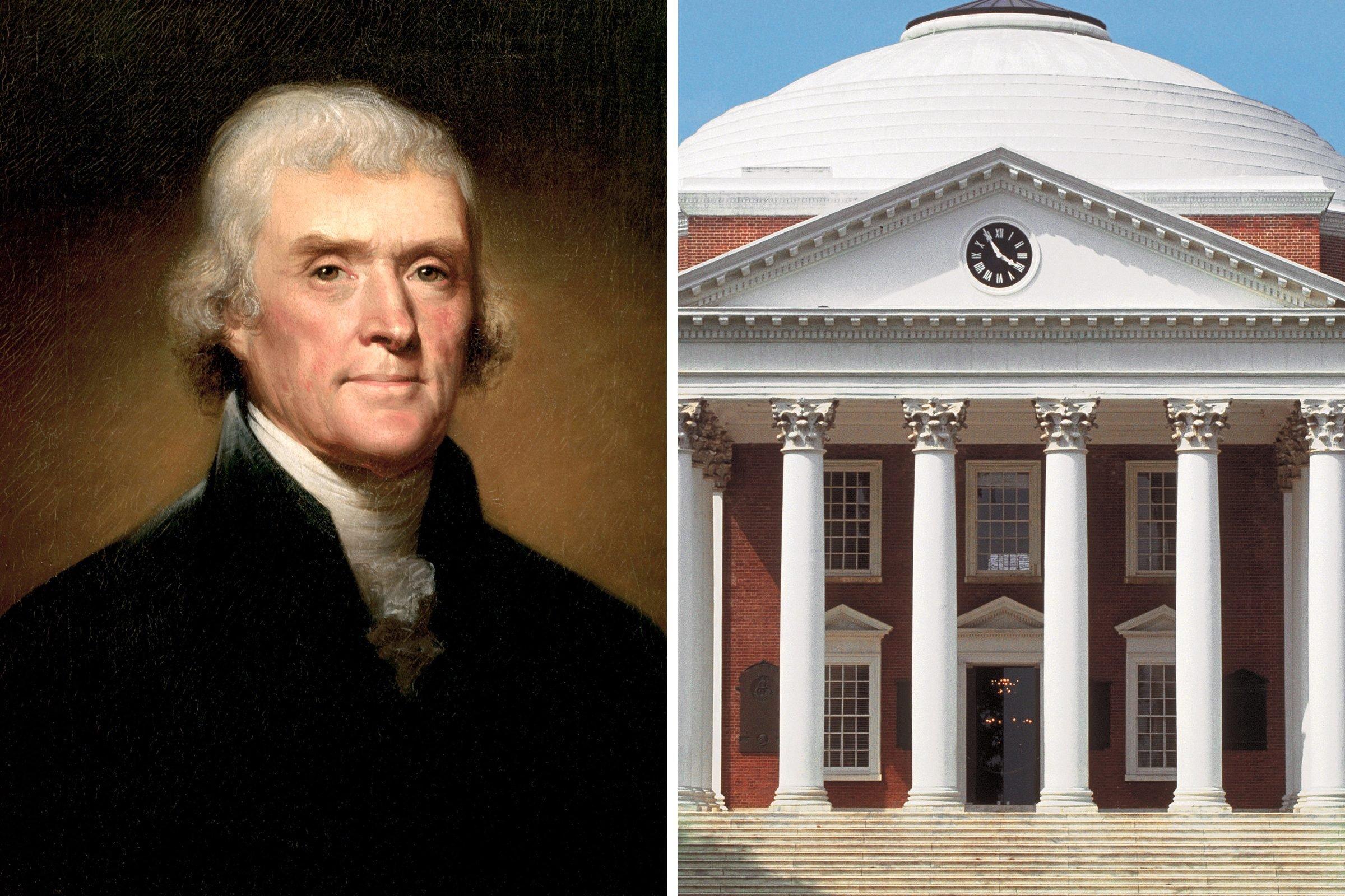 Thomas Jefferson: University founder