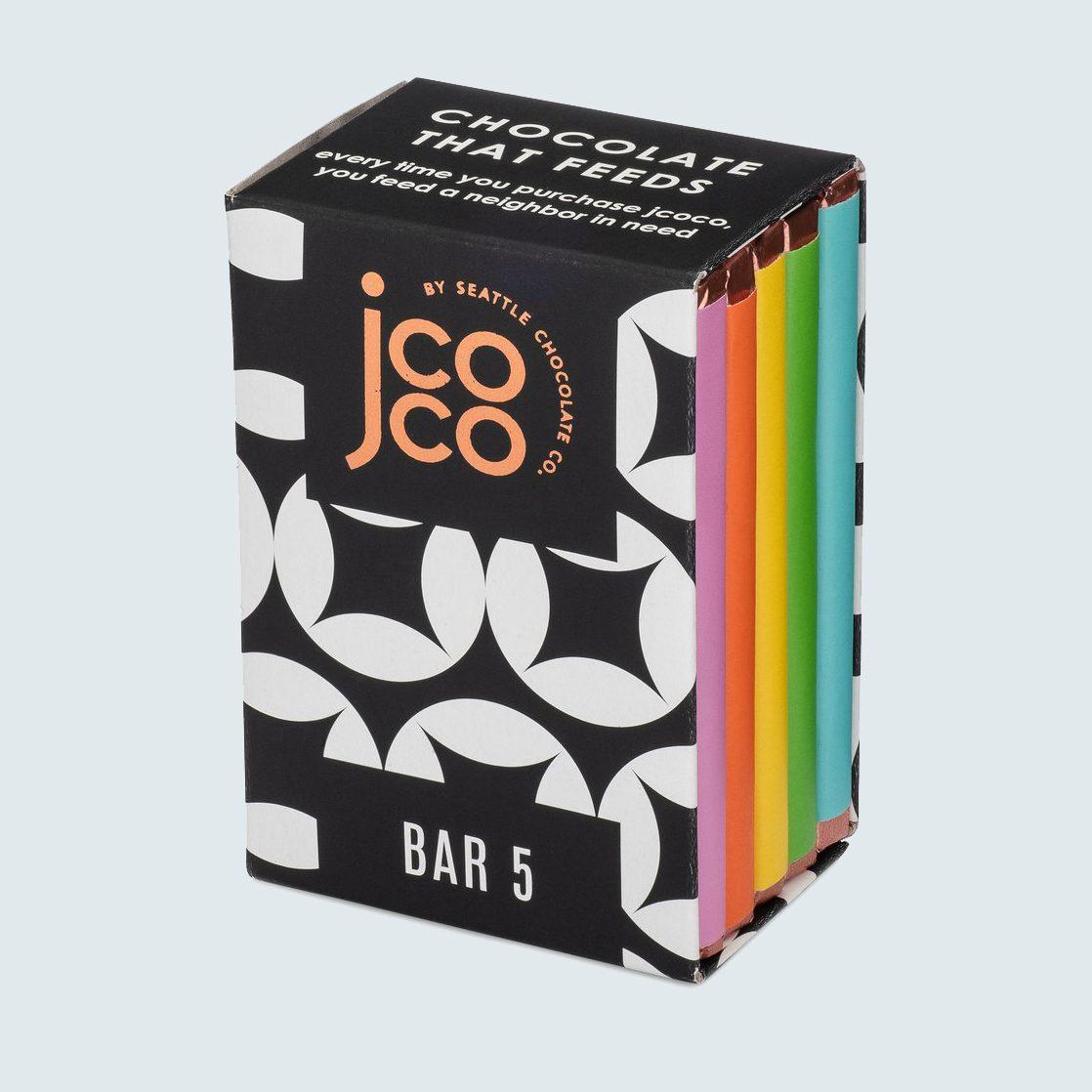 jcoco Bar 5 Milk + White