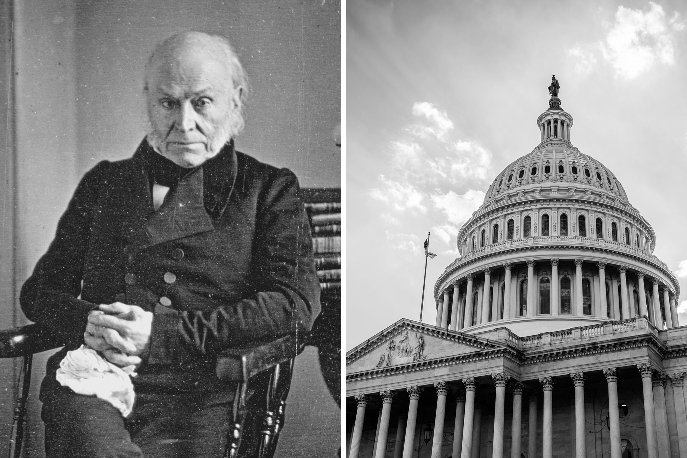 John Quincy Adams: Nine-term congressman