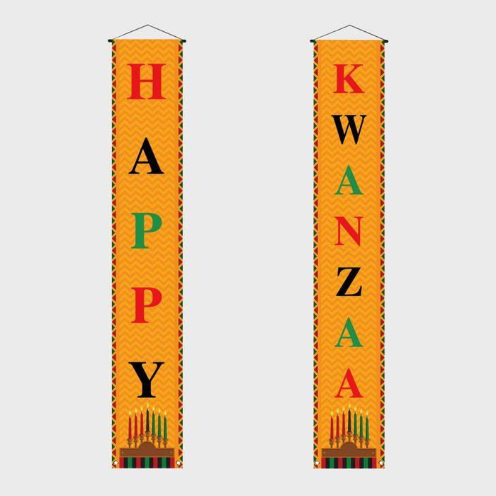 Kwanzaa Banner Via Amazon