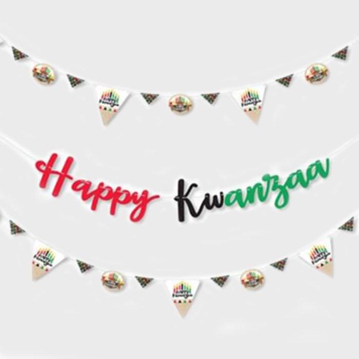 Kwanzaa Banner Via Walmart