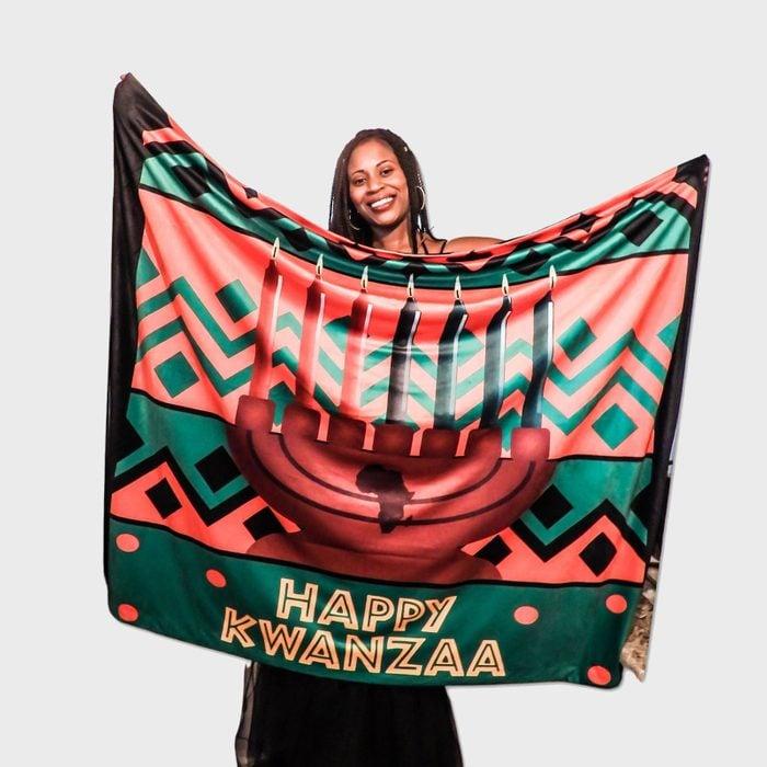 Kwanzaa Blanket Via Etsy