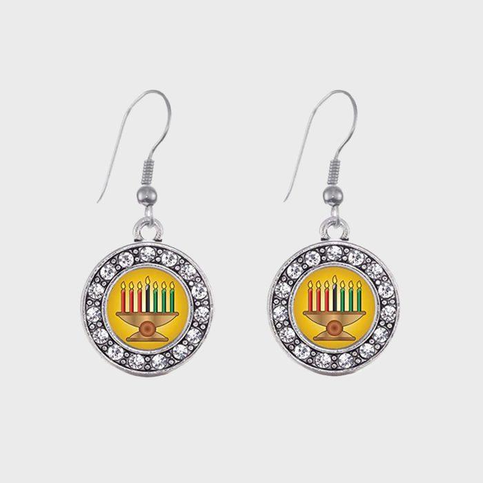 Kwanzaa Earrings Via Amazon