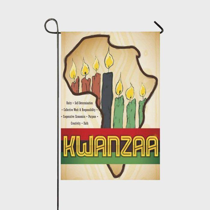 Kwanzaa Flag Via Walmart