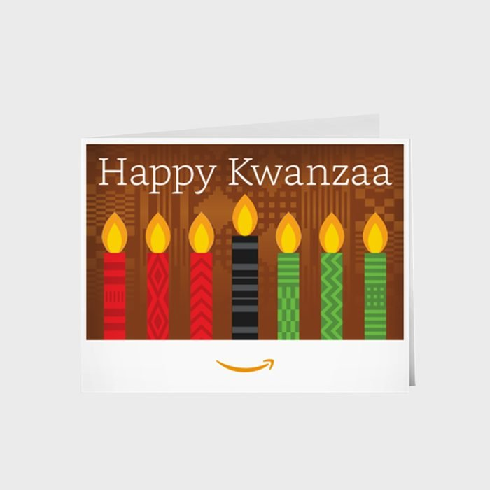 Kwanzaa Gift Card Via Amazon