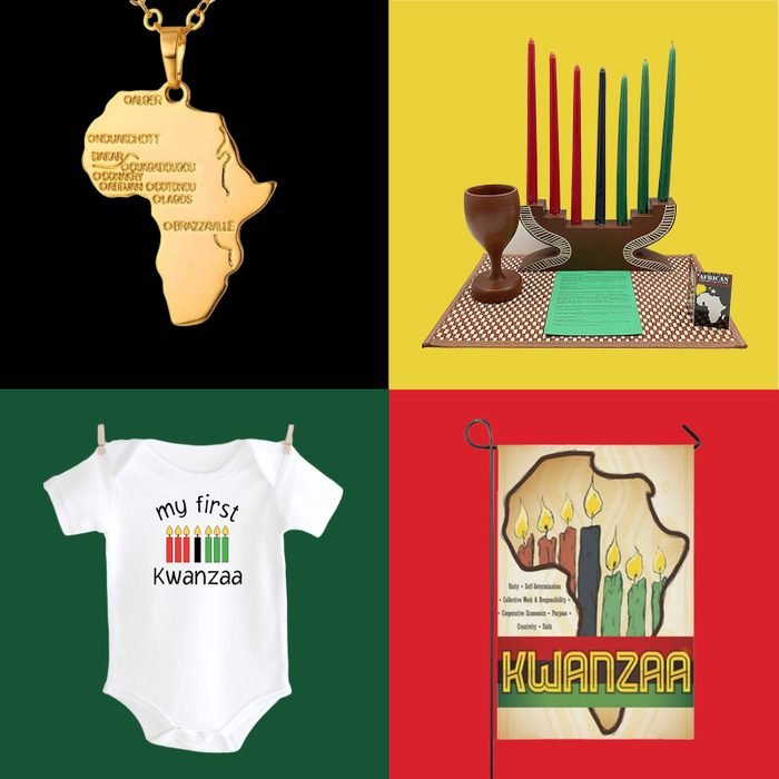 Kwanzaa Gift Guide collage