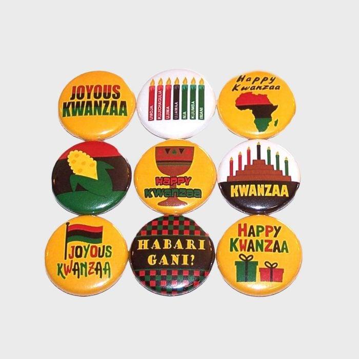 Kwanzaa Pins Via Etsy
