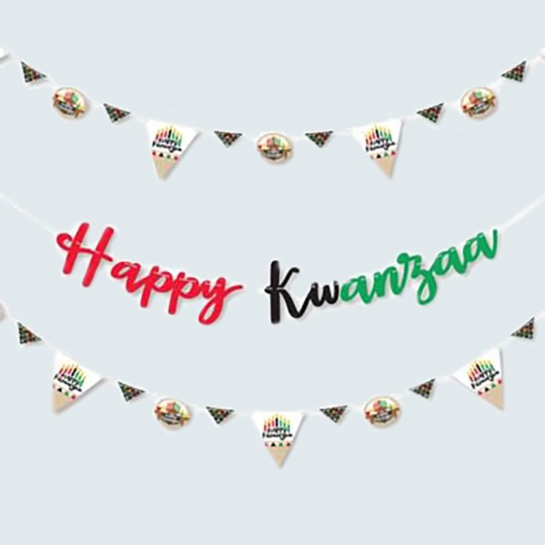 Kwanzaa Decoration Banner
