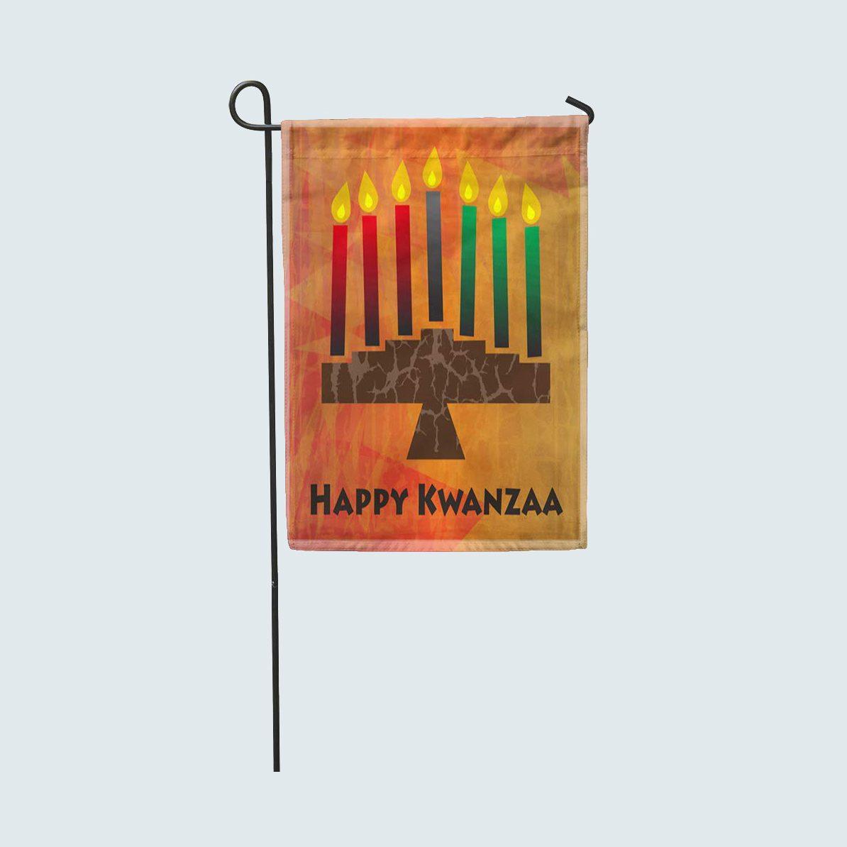 Kwanzaa Garden Flag