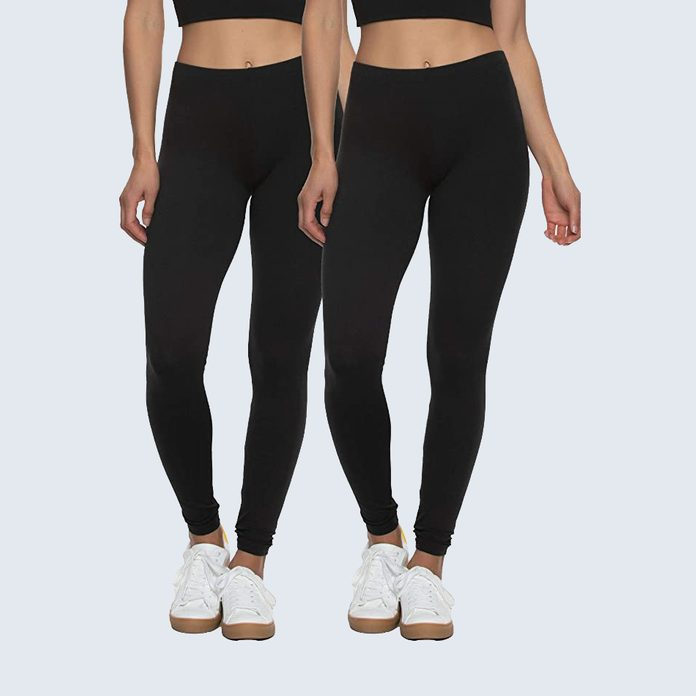 Felina Velvety Super Soft Lightweight Legging (2-pack)