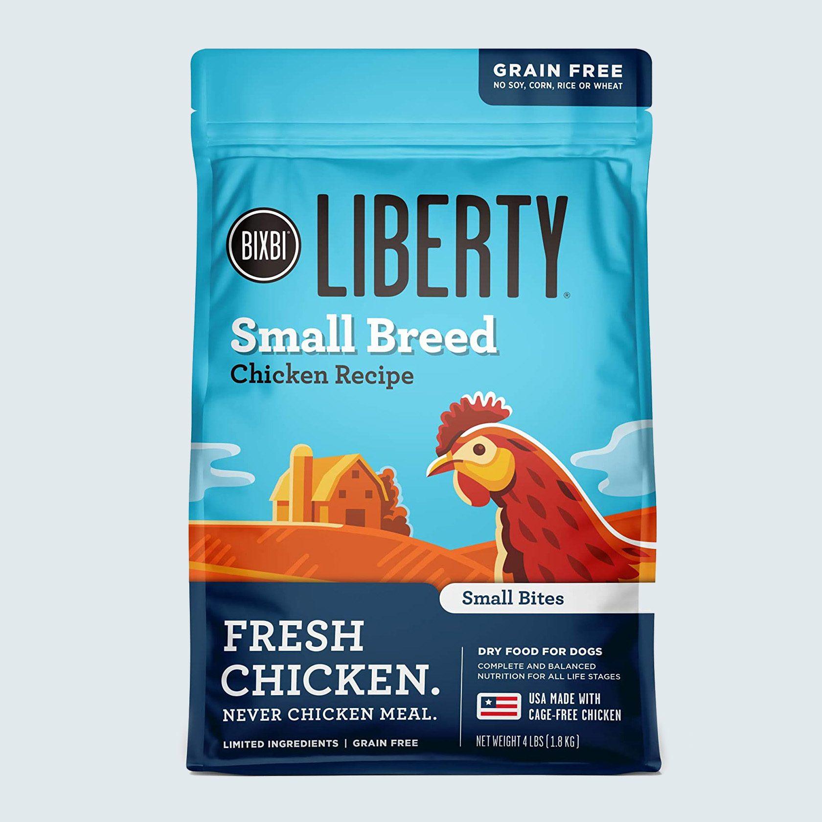 Bixbi liberty dog food