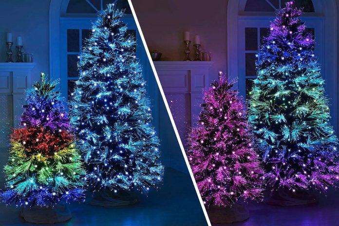 The Light Show Christmas Tree