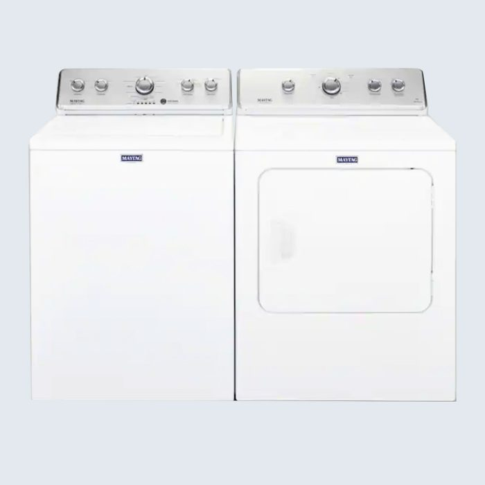 Maytag Large-Capacity Top Load Washer and Electric Dryer