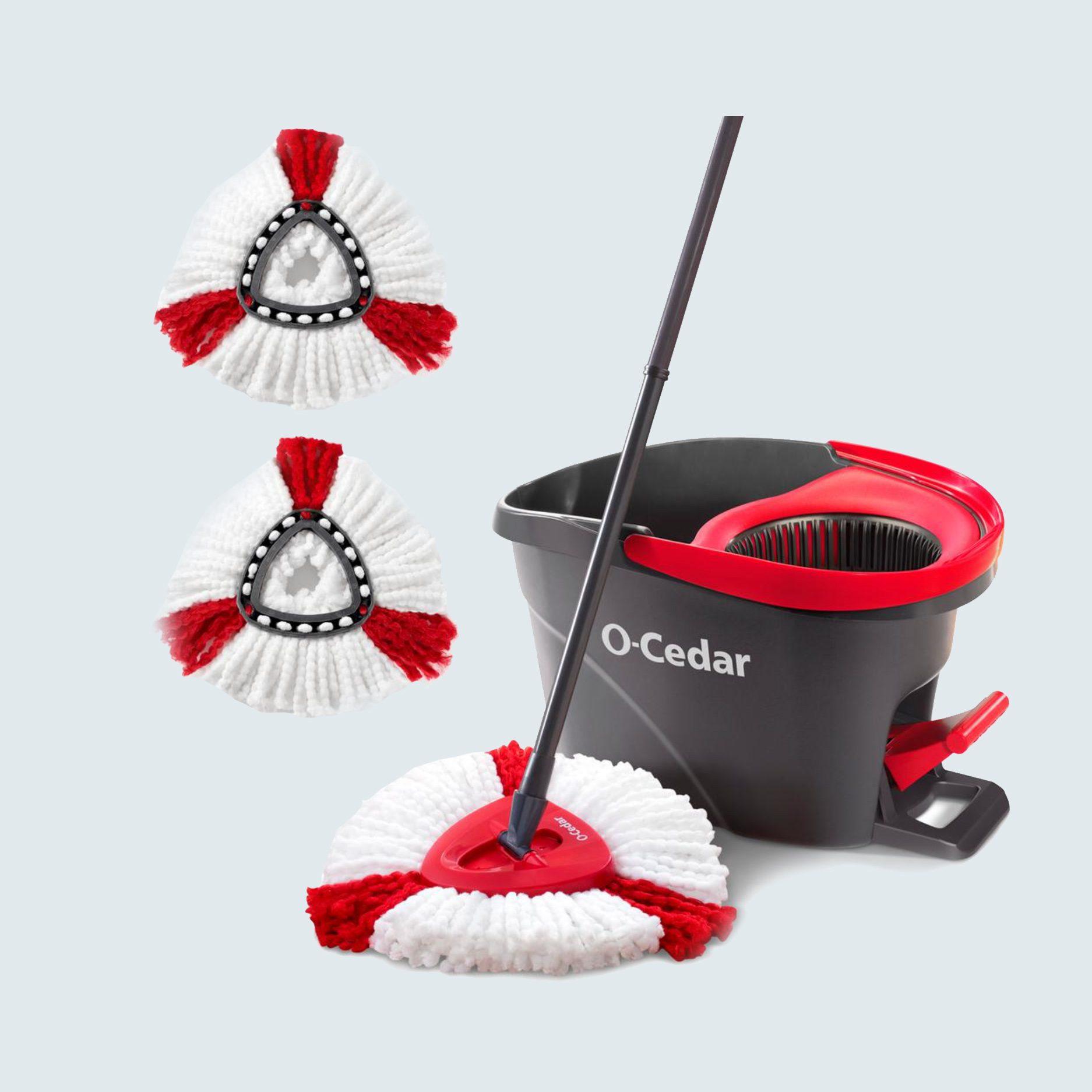 O-Cedar Microfiber Spin Mop and Bucket