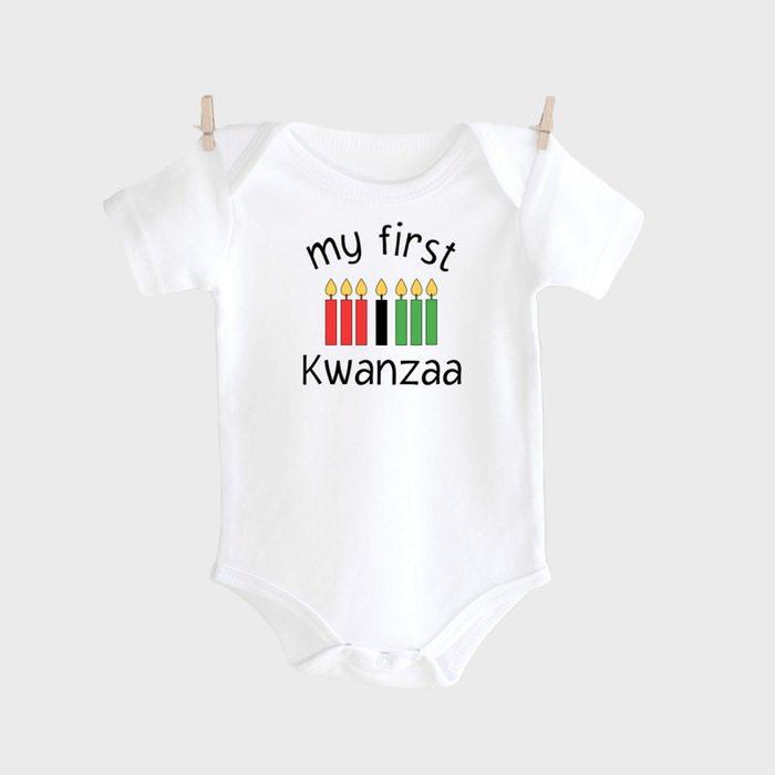 My First Kwanzaa Onesie