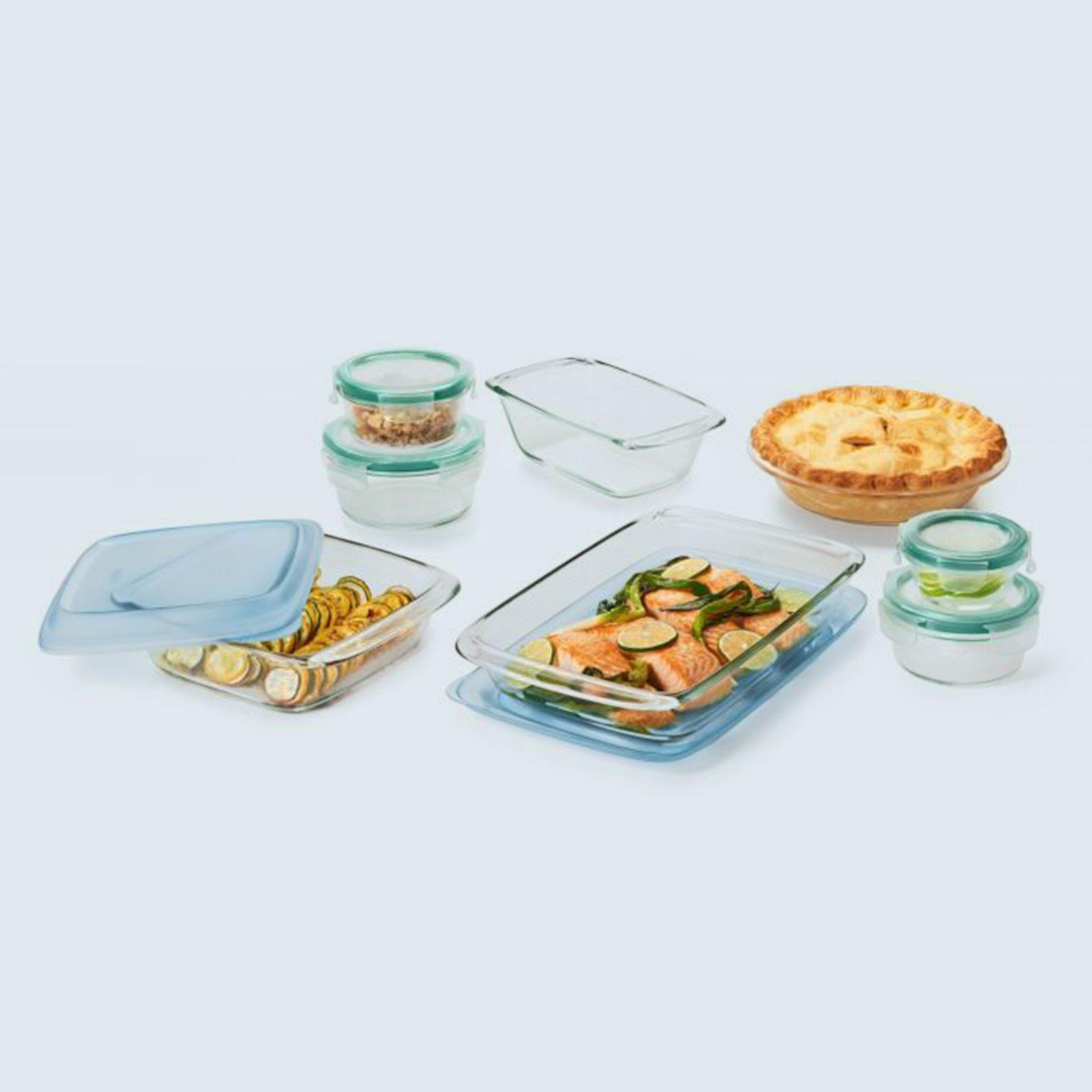 OXO 14-Piece Glass Bake, Serve & Store Set