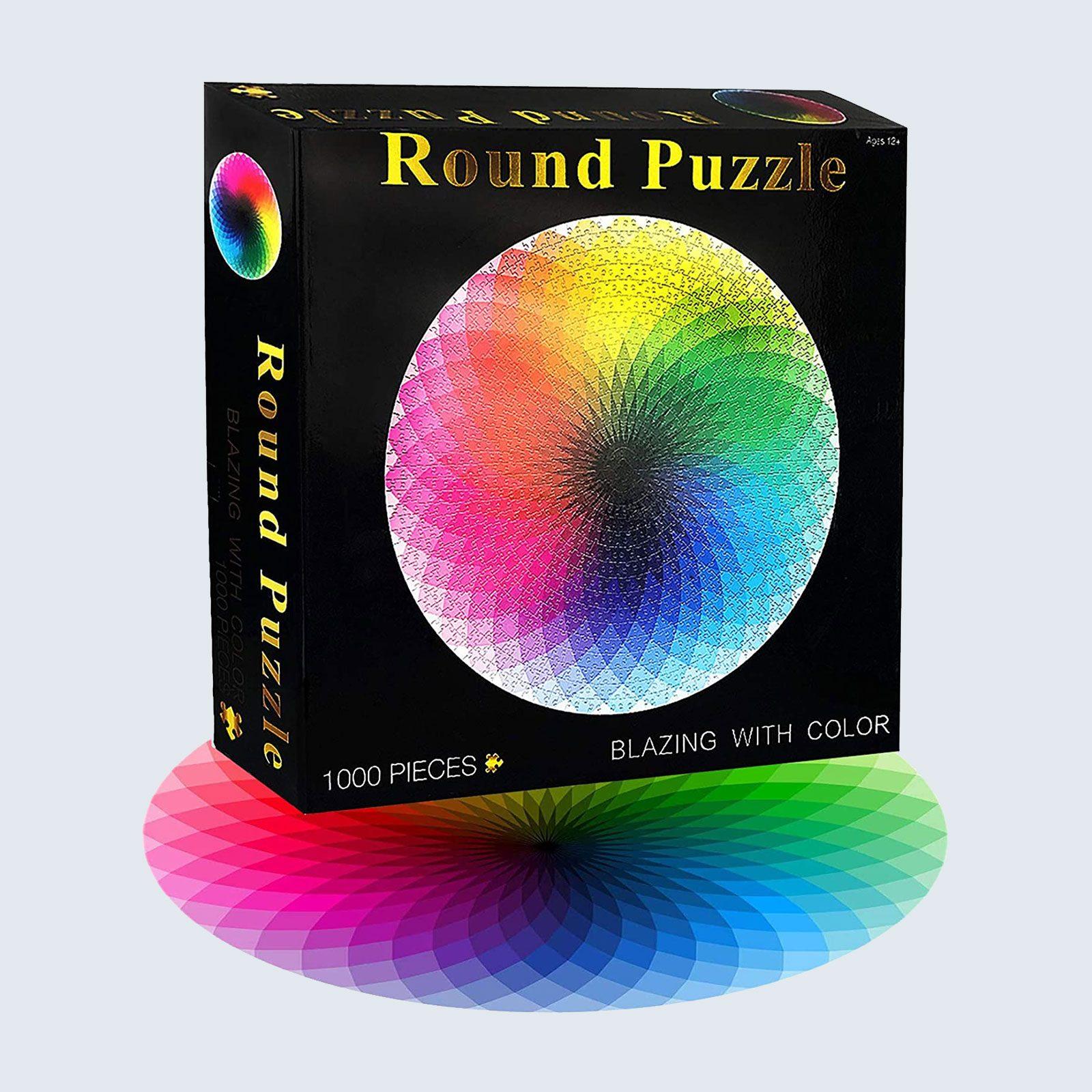 Gradient Color Rainbow Puzzle