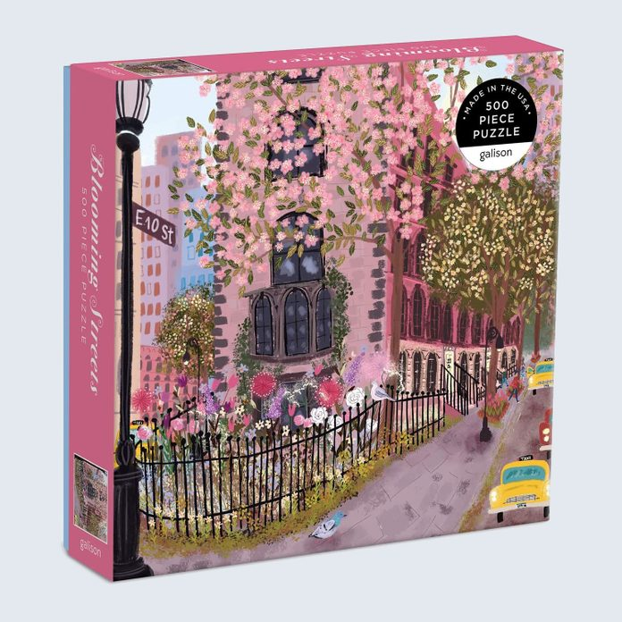 Galison Blooming Streets 500-Piece Puzzle