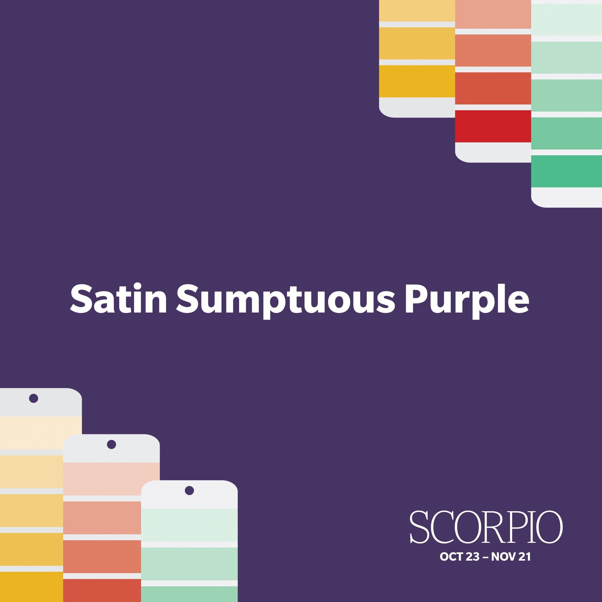 scorpio paint color