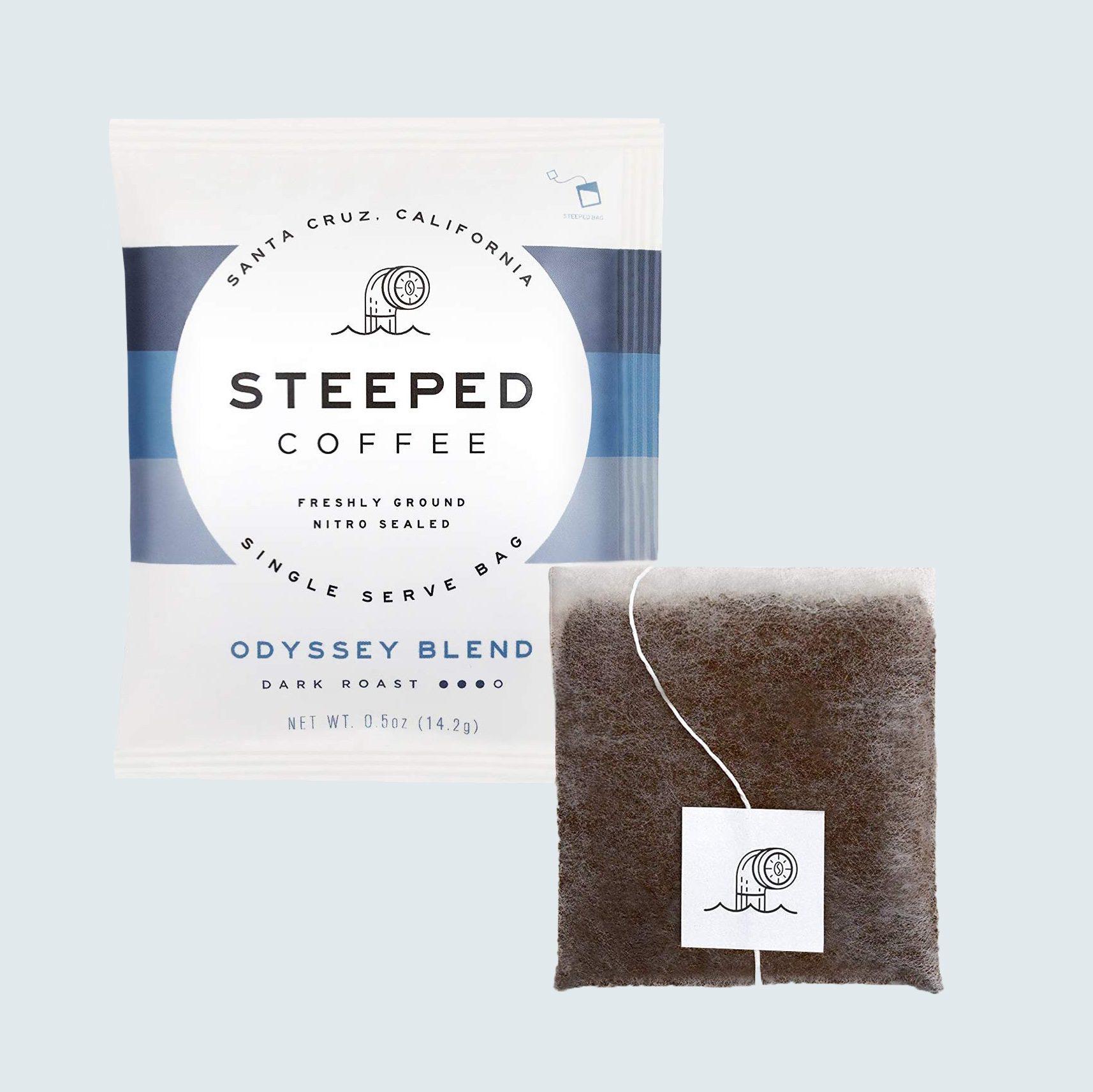 Steeped Single-Serve Gourmet Coffee Bags, 8 servings