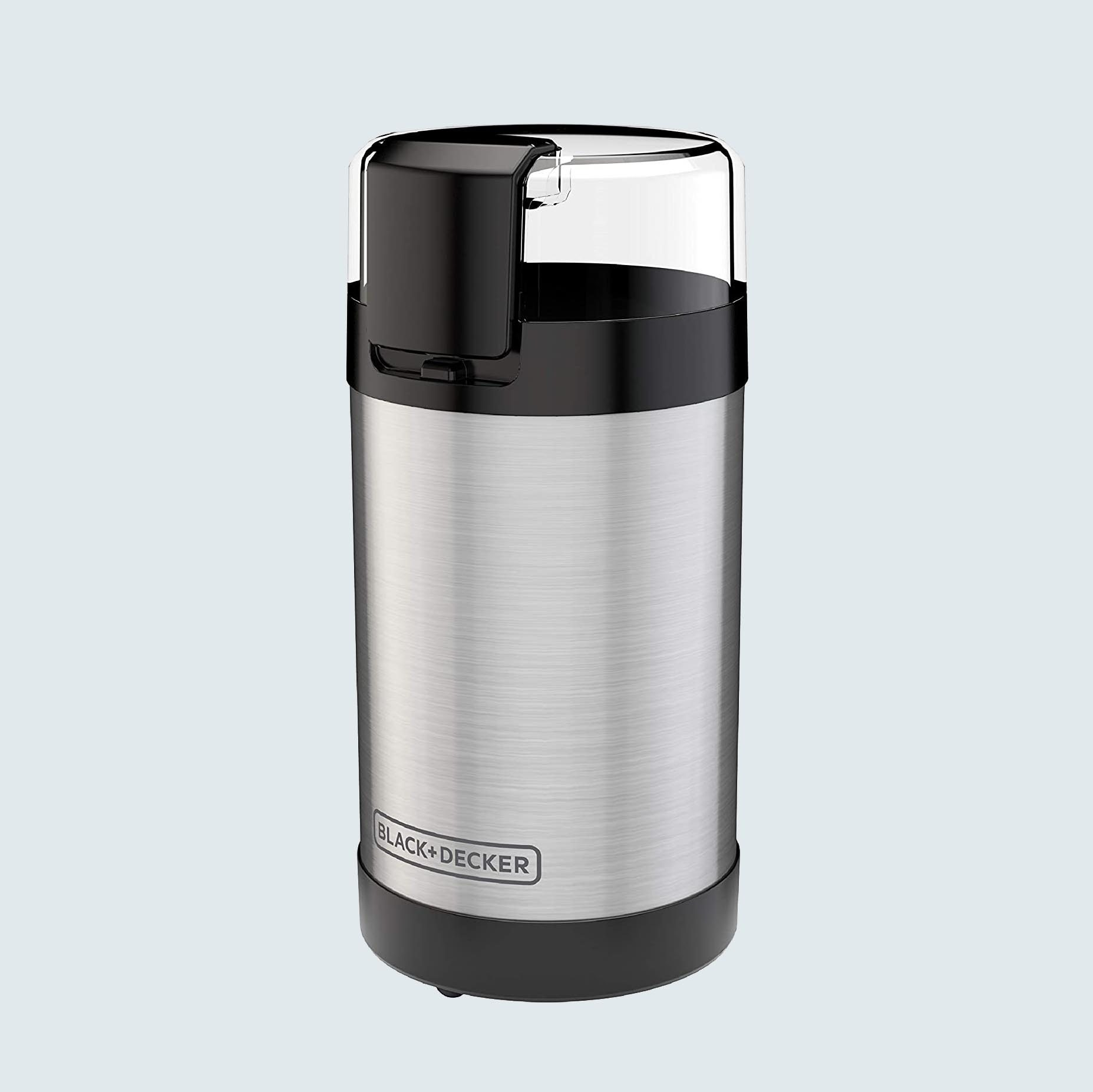 Black + Decker One Touch Push-Button Control Coffee Grinder