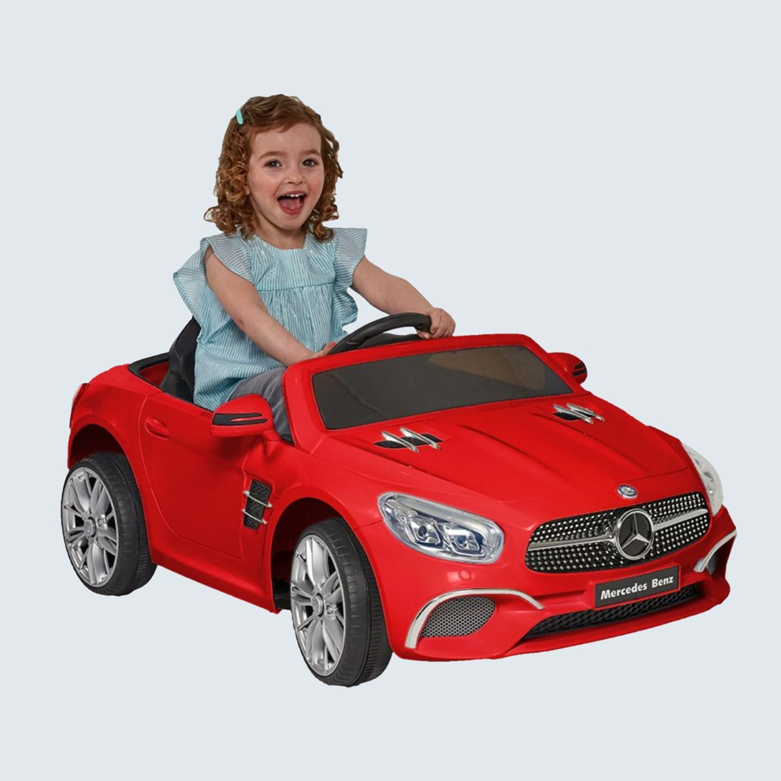 12 Volt Mercedes SL-400 Red Battery Operated Ride On