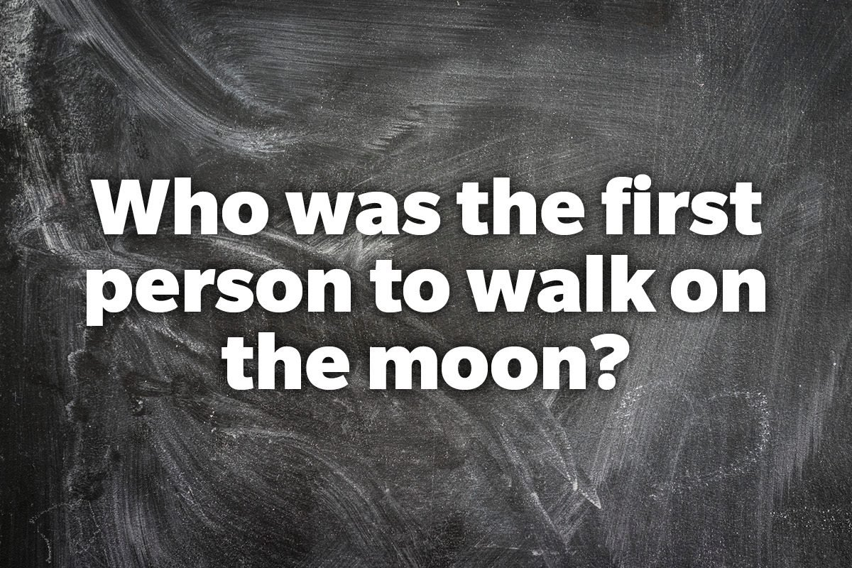 Who was the first person to walk on the moon?