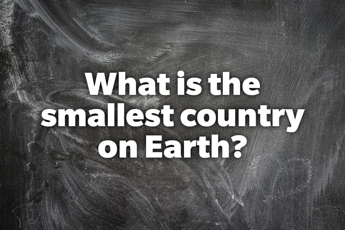 What is the smallest country on Earth?