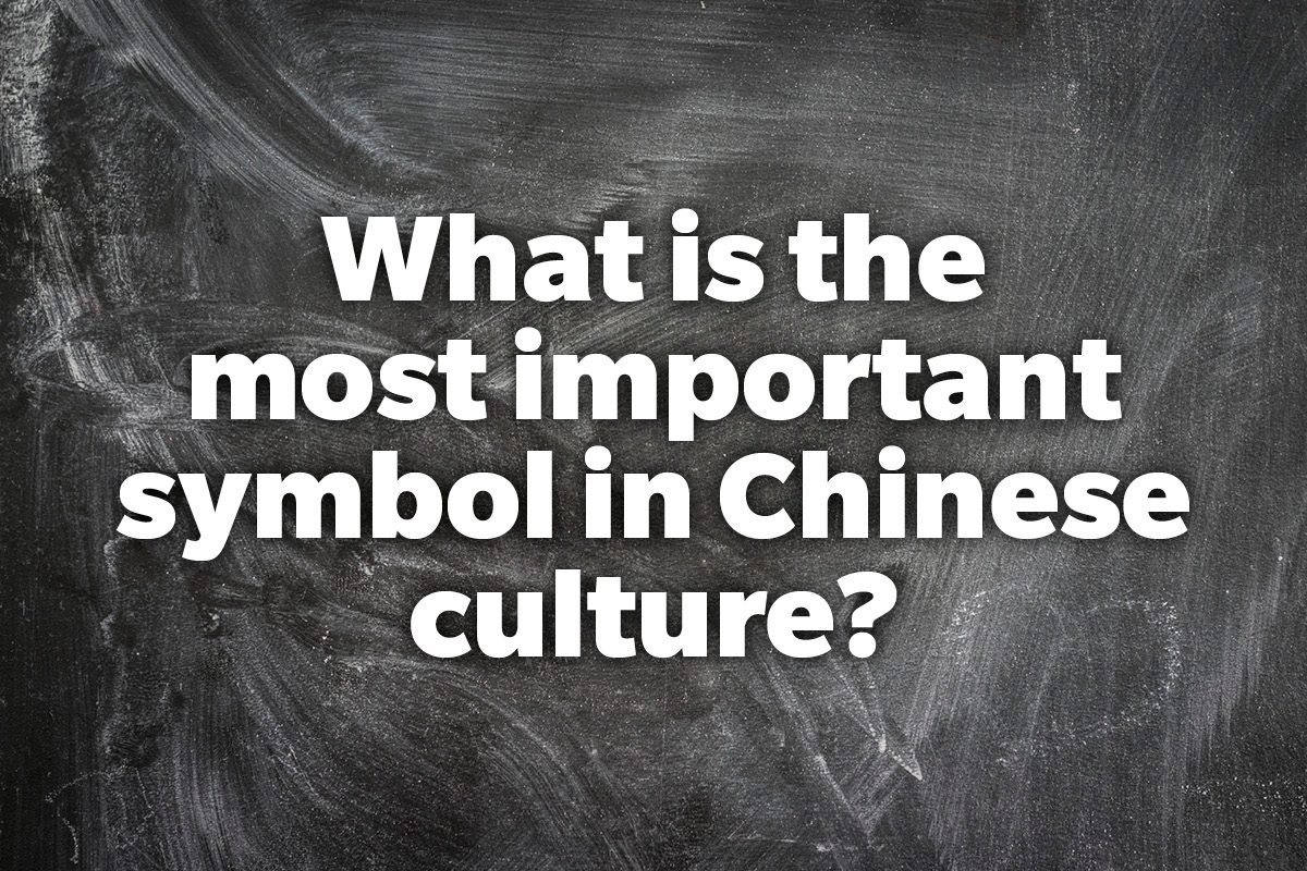 What is the most important symbol in Chinese culture?