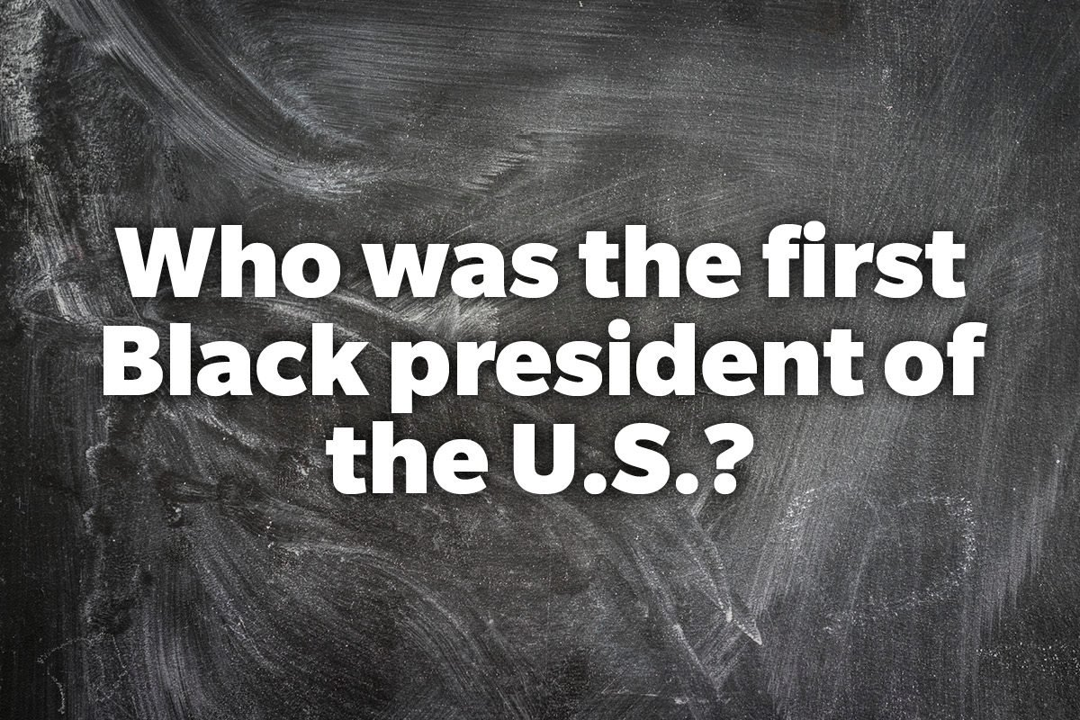 Who was the first Black president of the U.S.?