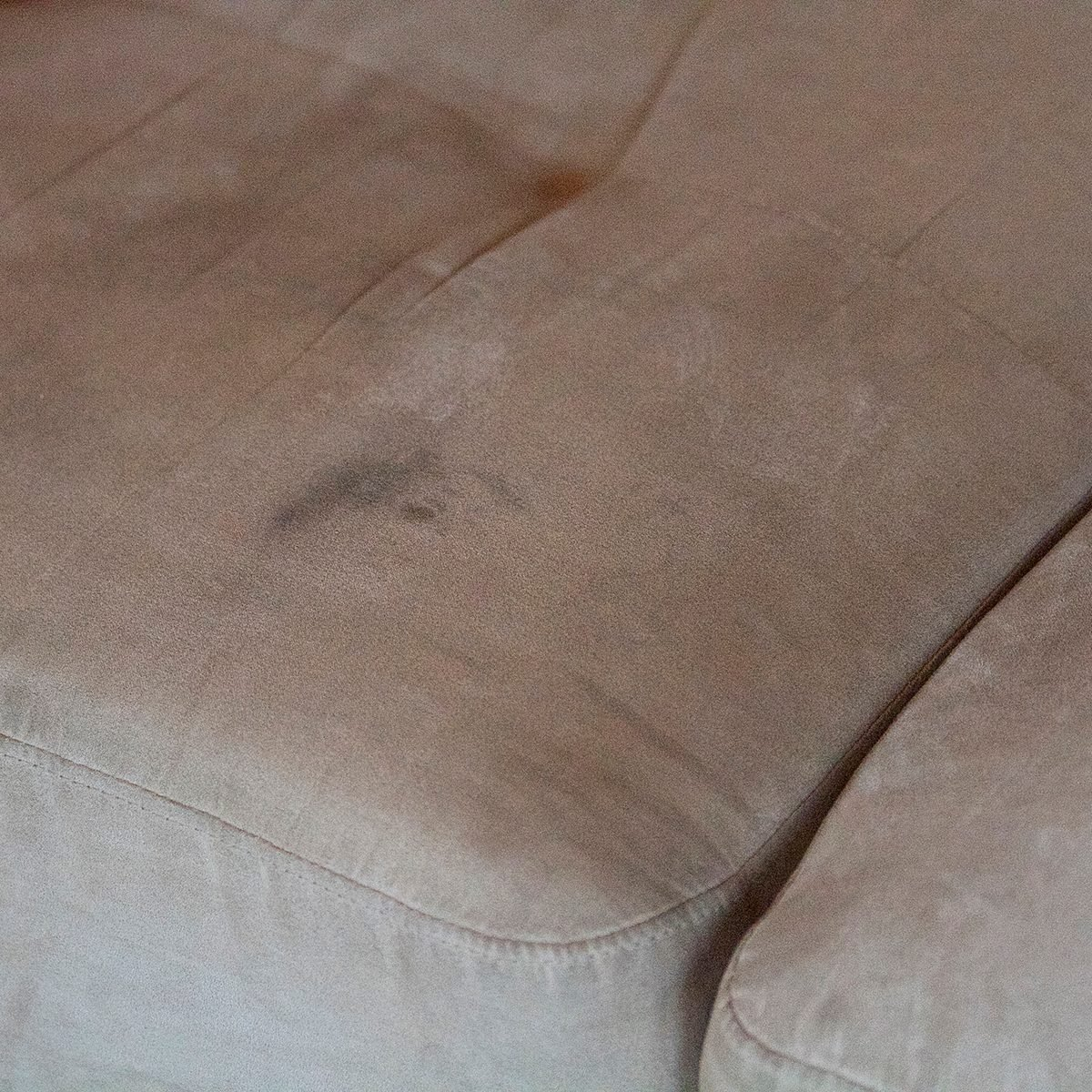 Upholstery stain,couch,suede