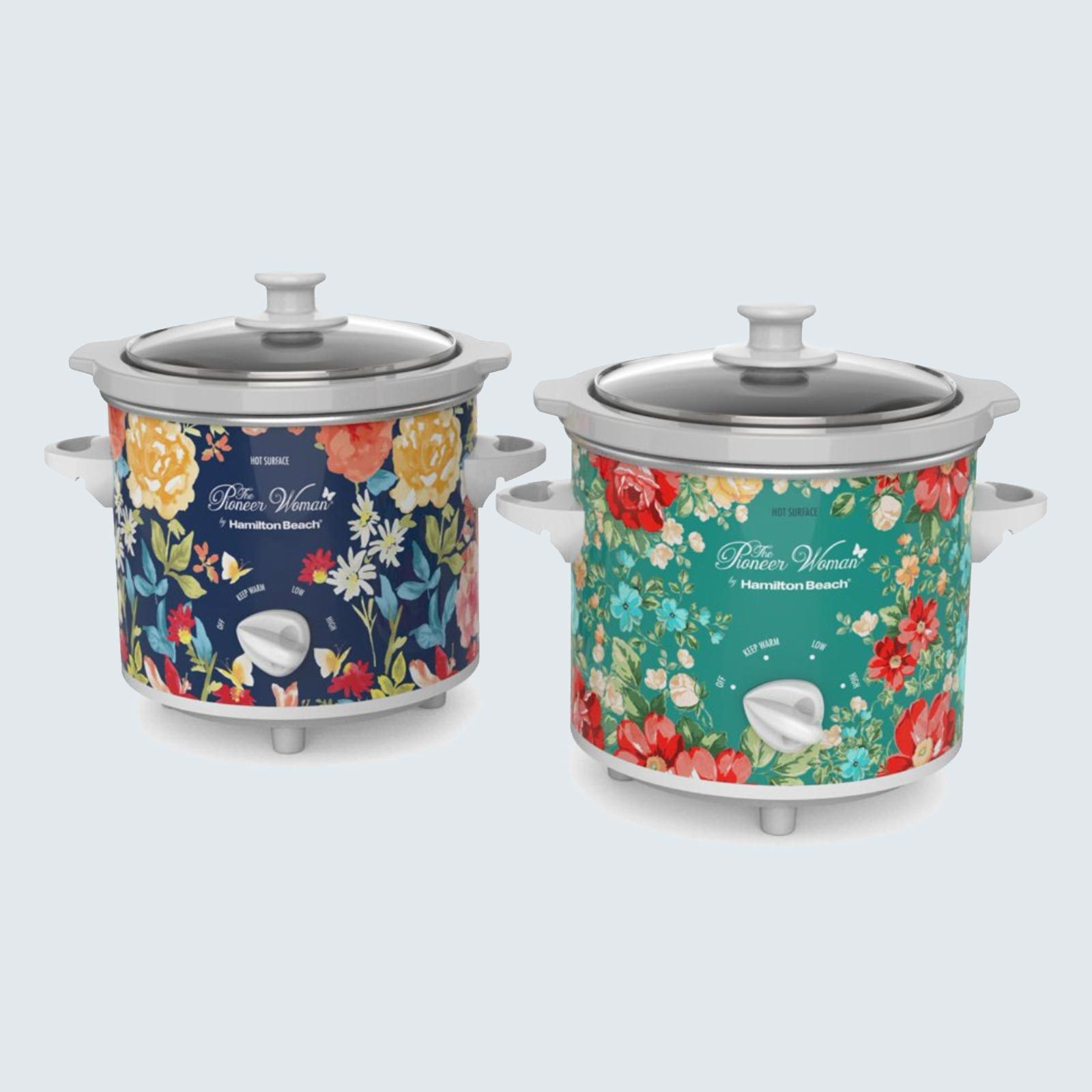 The Pioneer Woman Slow Cookers, set of 2