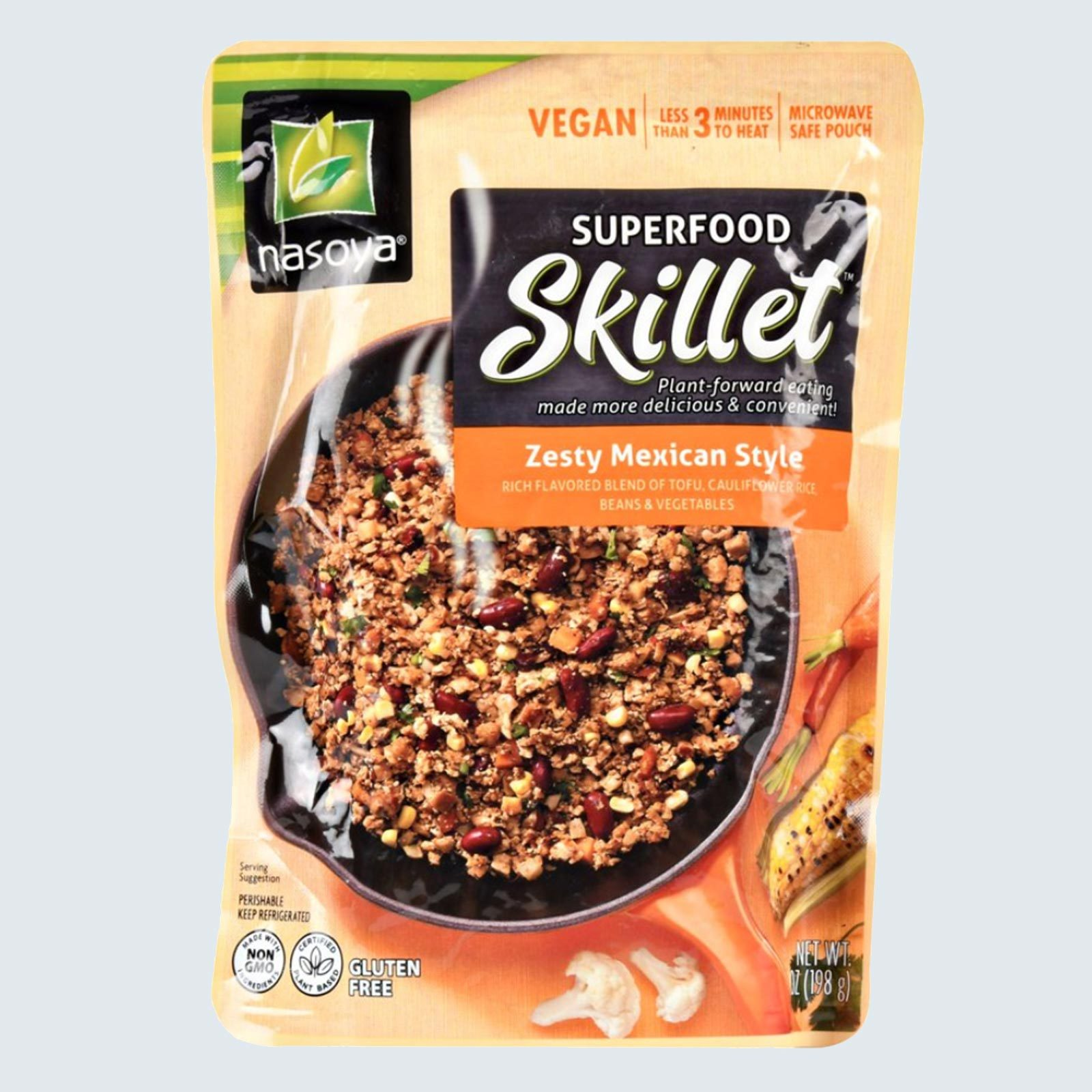 Nasoya Superfood Skillet Zesty Mexican Style