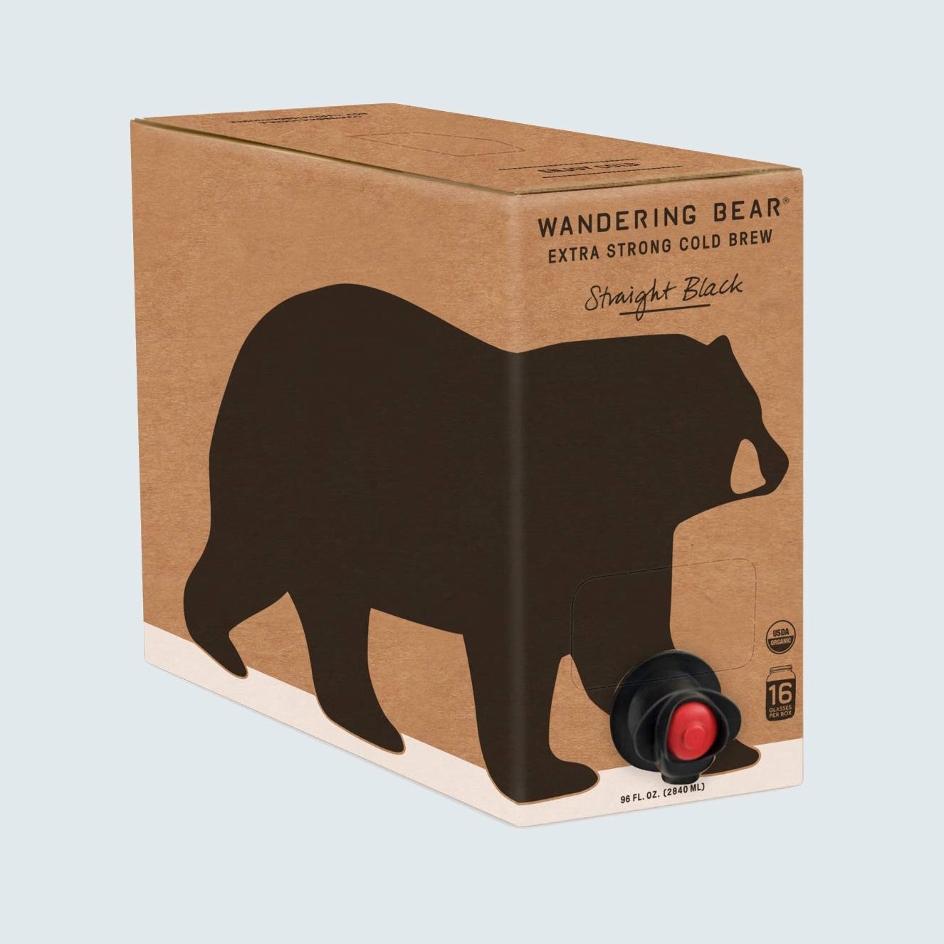 Wandering Bear Organic Cold Brew Coffee on Tap