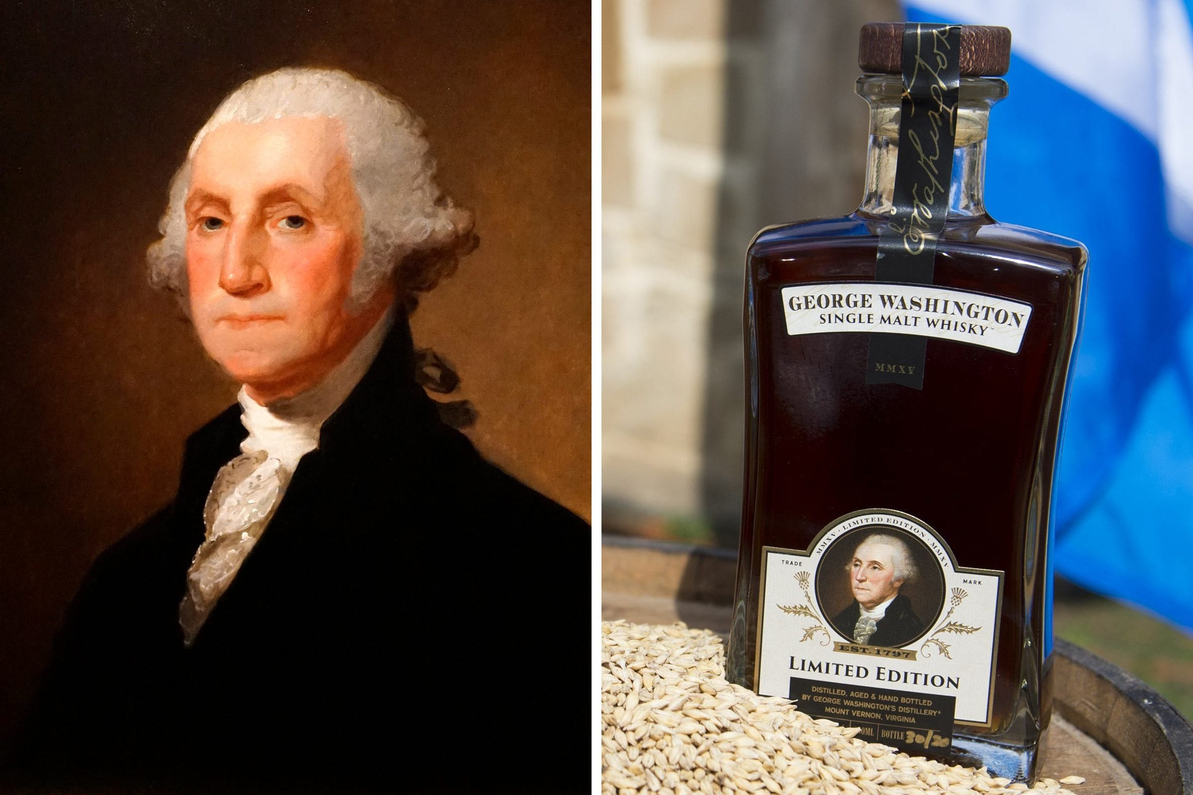 George Washington: Whiskey distiller