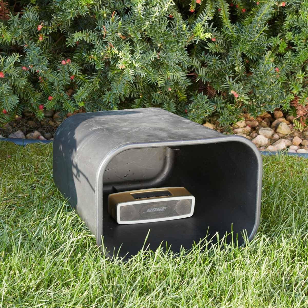 Trash-Can Music Amplifier
