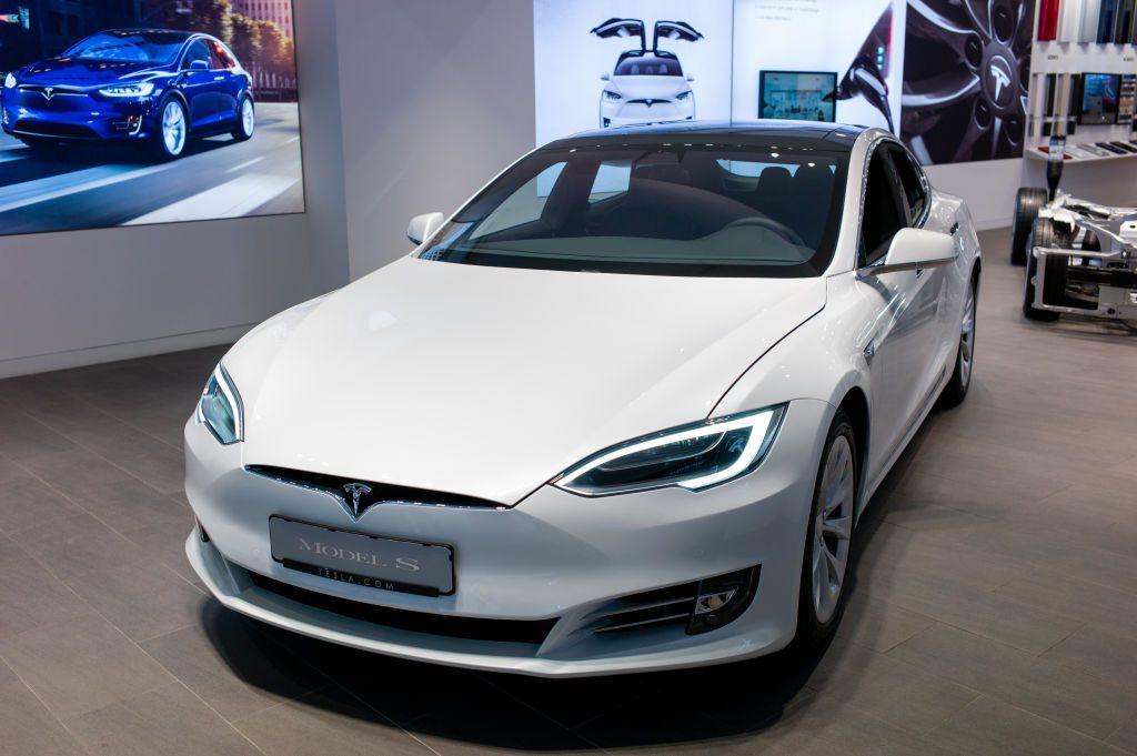 Tesla Store In Barcelona