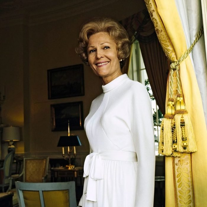 Portrait of First Lady Pat Nixon at the White House, Vogue