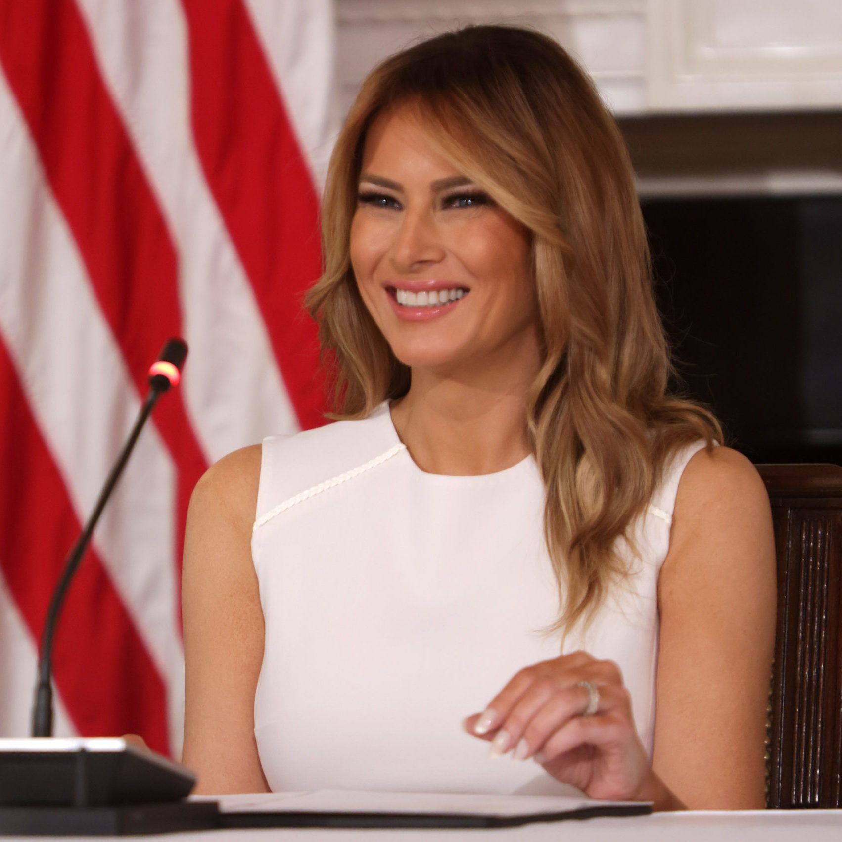 First Lady Melania Trump Hosts Roundtable Discussion On Sickle Cell Anemia