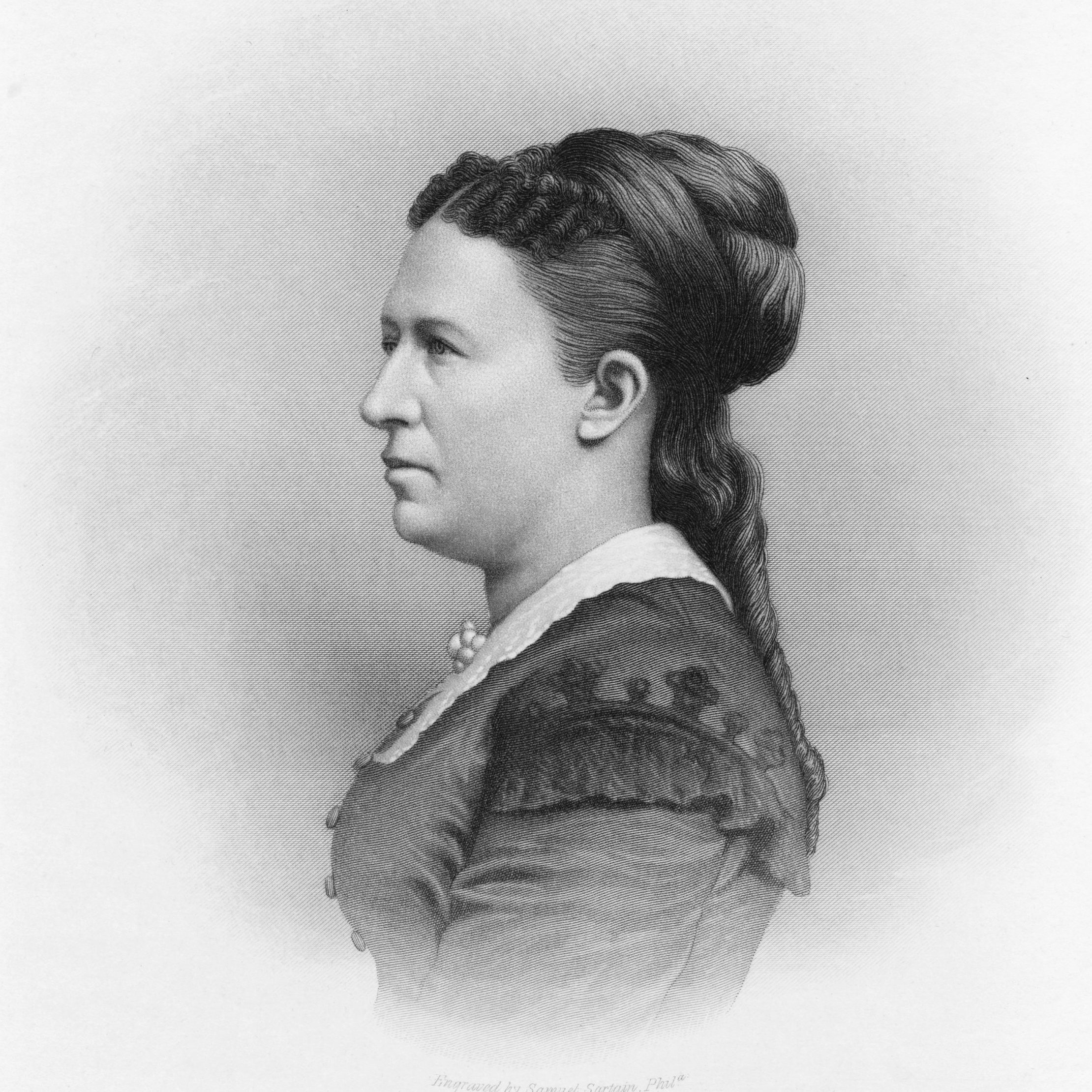 Julia Grant, first lady