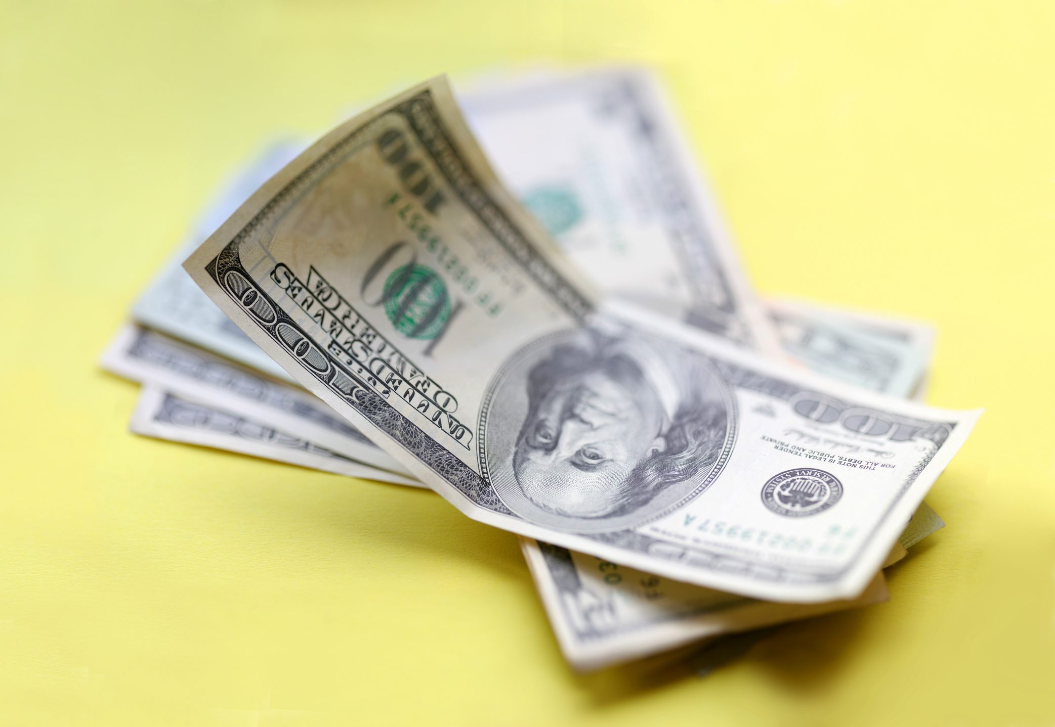 Dollars. Some piece of money.