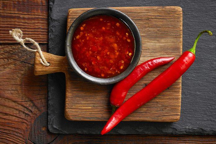 red hot chili sauce