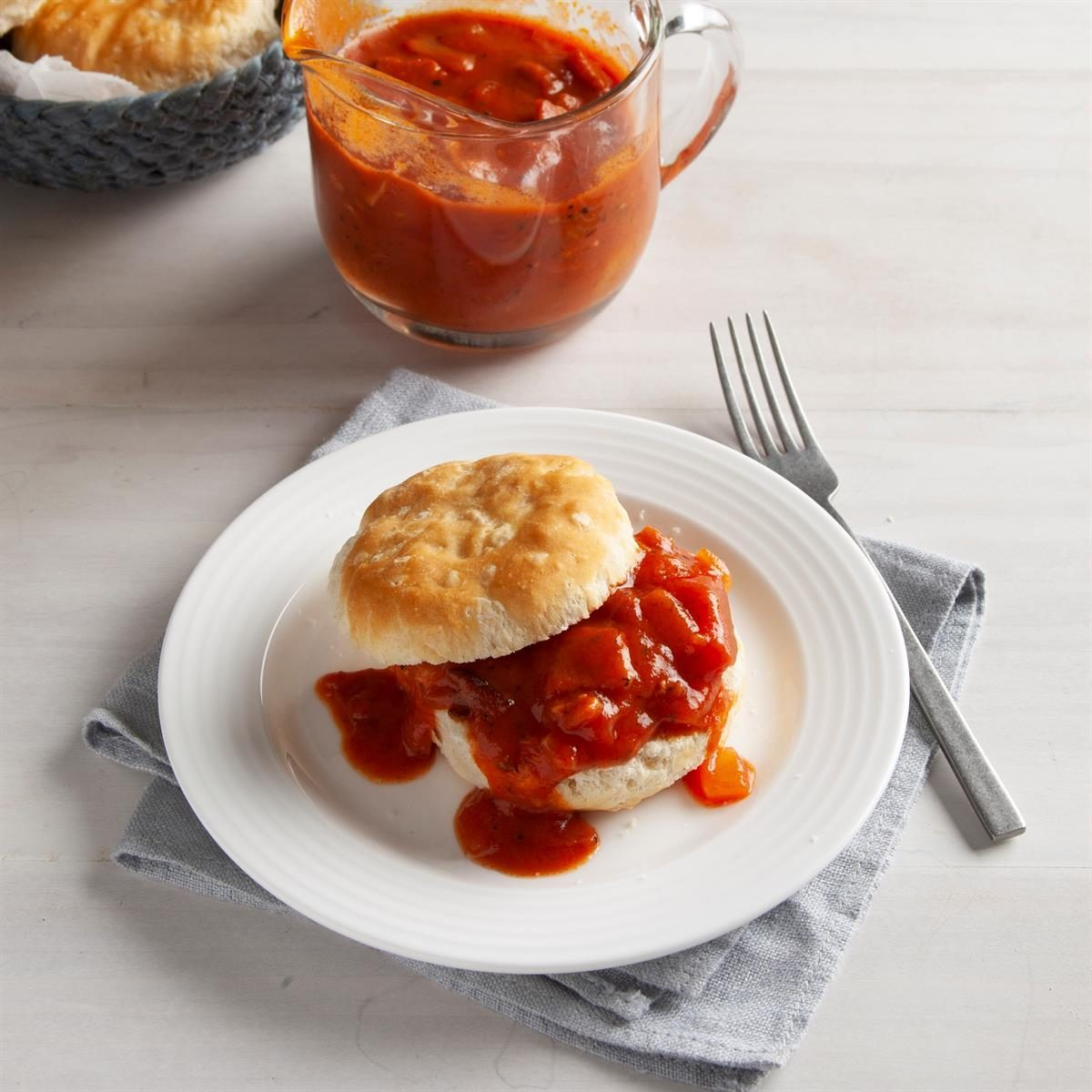 1930s: Tomato Gravy and Biscuits