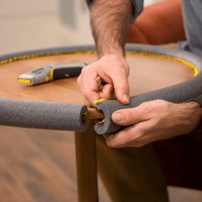 Pipe Insulation for Baby-Proofing
