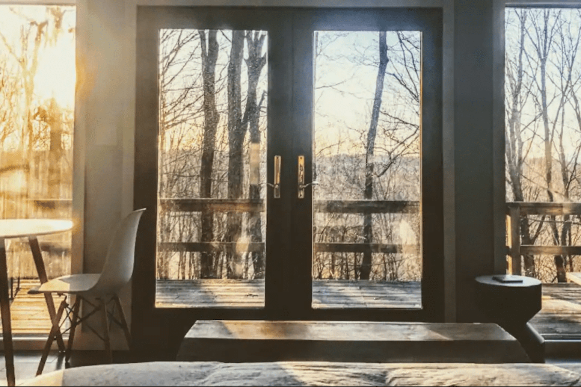 Private ridgetop cabin: Rhinebeck, New York