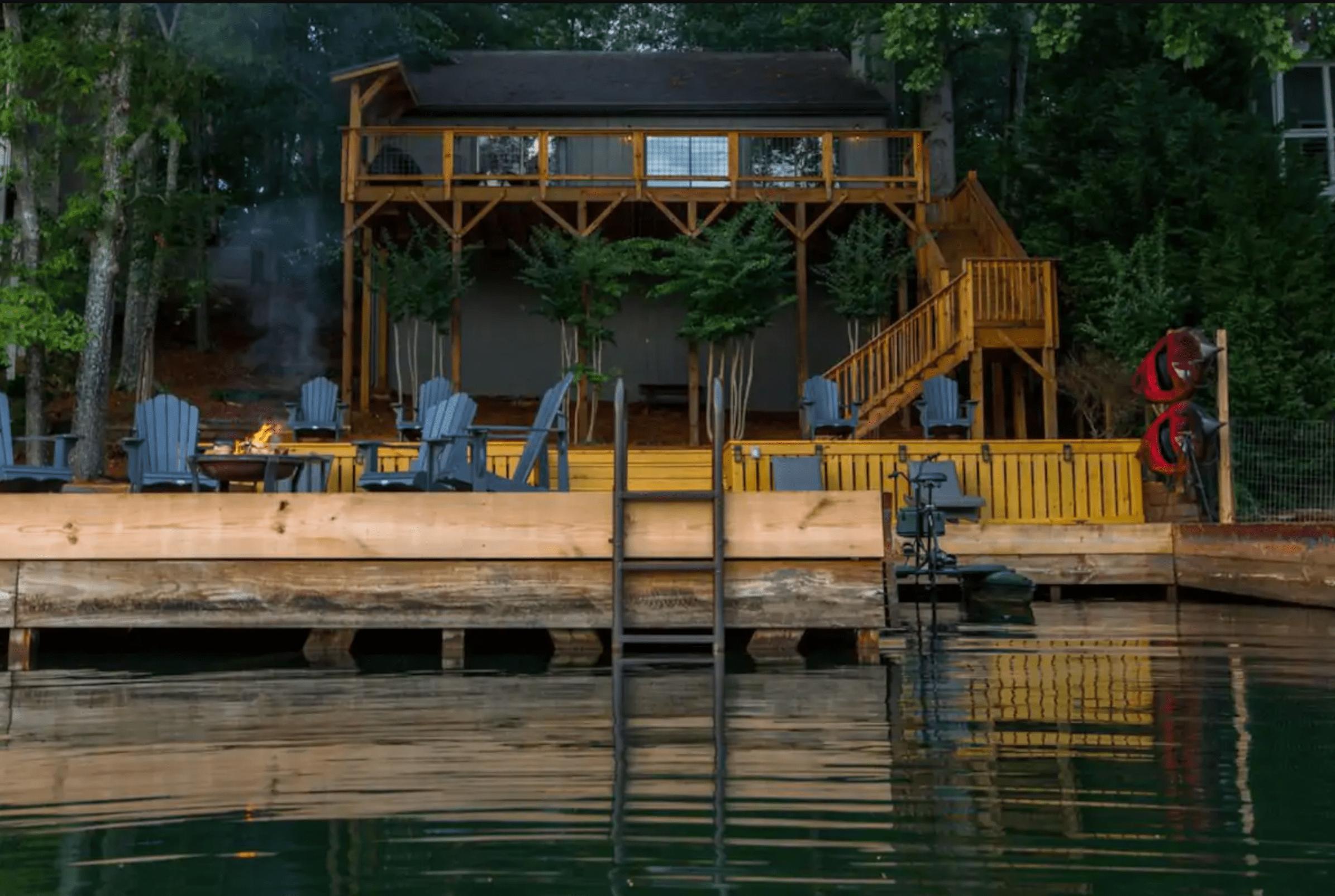 Rustic charm: Lake Arrowhead, Georgia