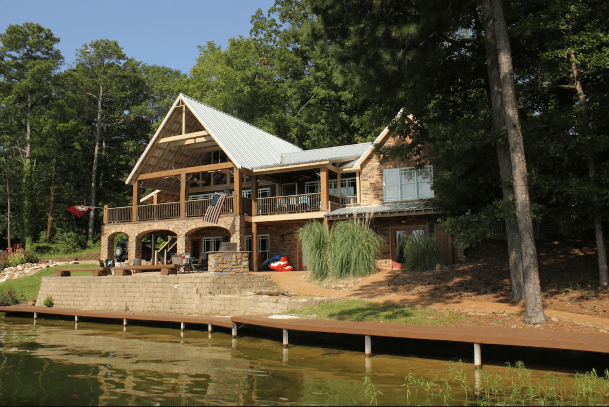 Million-dollar views: Lake Martin, Alabama
