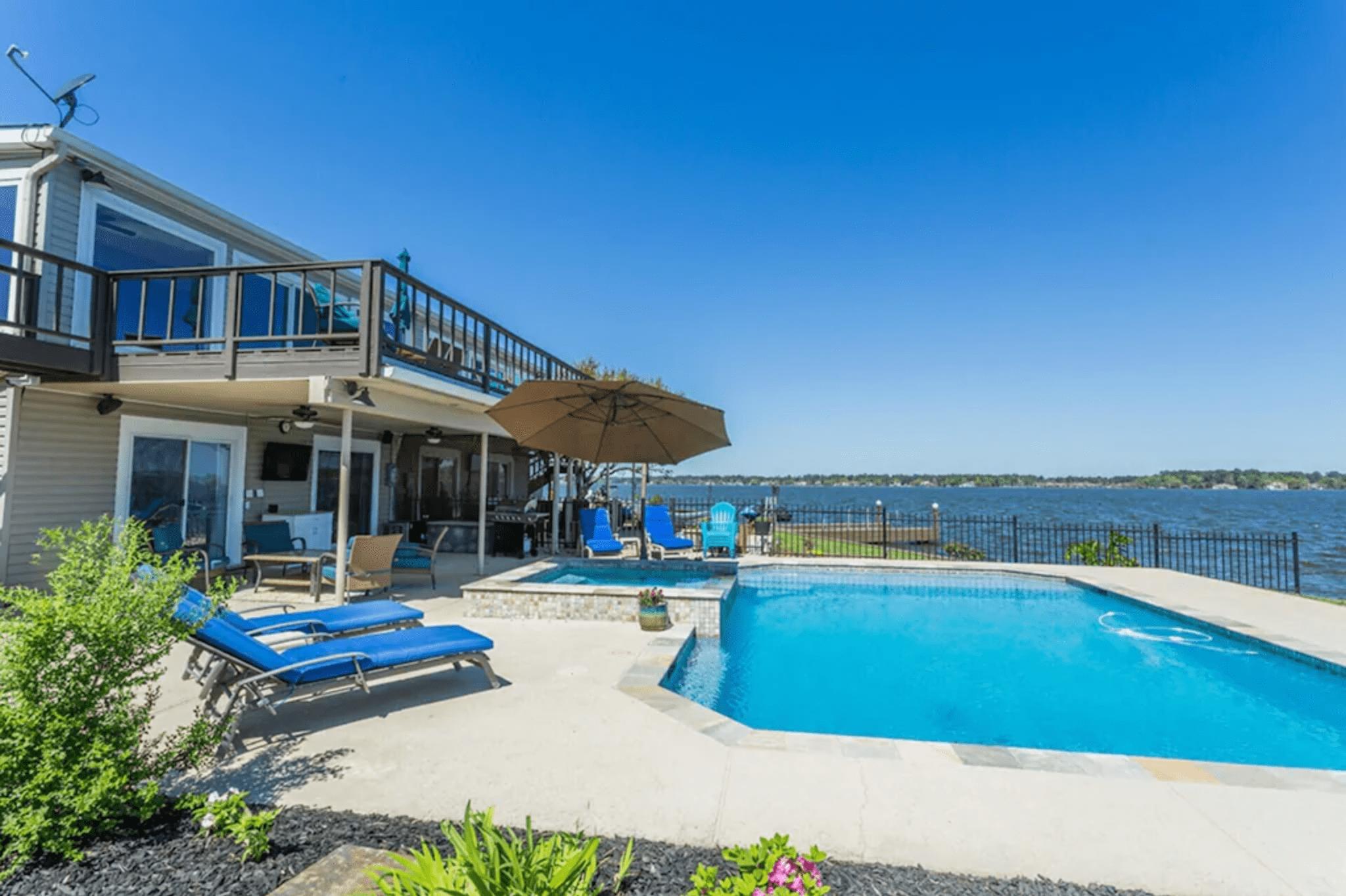 Beach-house vibes: Lake Travis, Texas