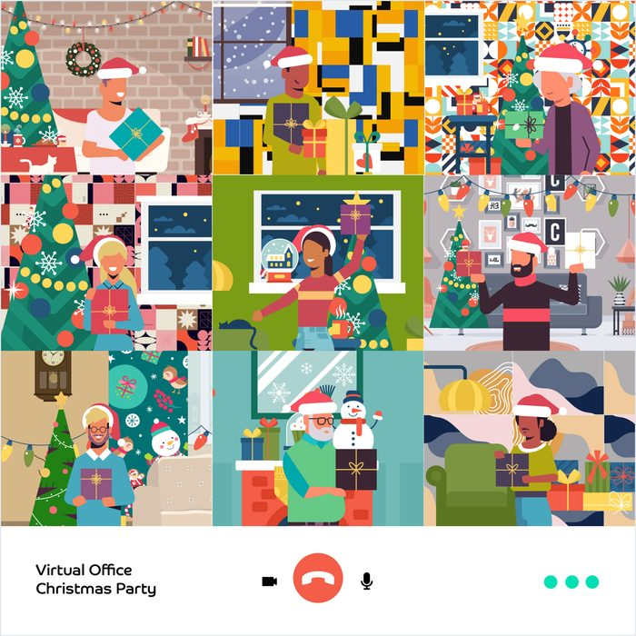 can you find all the santas in this image?